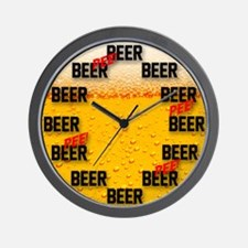 Beer all the Time Wall Clock