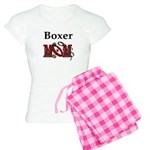 Boxer Dog Mom Gifts Women's Light Pajamas