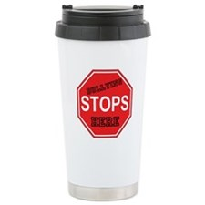 Bullying Stops Here Travel Mug