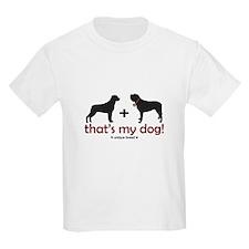Rottweiler/St. Bernard Kids T-Shirt