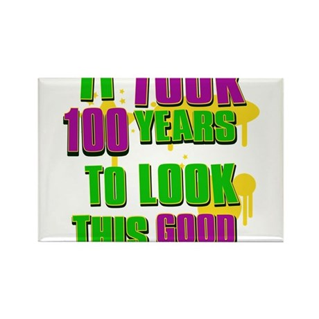 It took 100 years to look this Rectangle Magnet (1