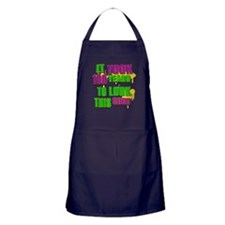 It took 100 years to look this Apron (dark)
