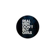 Real Men Mini Button