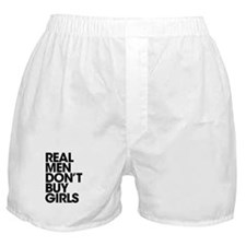 Real Men Boxer Shorts