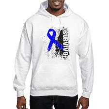 Survivor Colon Cancer Hoodie