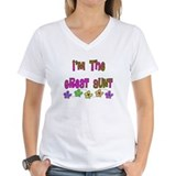 Auntie Womens V-Neck T-shirts