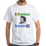 Revolutionary in Irish & Span White T-Shirt