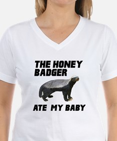 The Honey Badger Ate My Baby Shirt