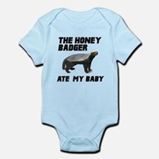The Honey Badger Ate My Baby Infant Bodysuit