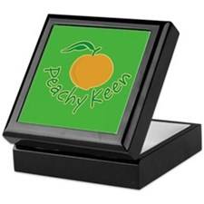 Peachy Keen Keepsake Box