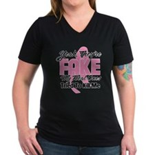 Fake Breast Cancer Shirt