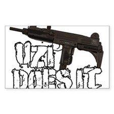 Uzi Does It Decal