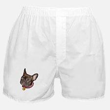 Frenchie Head Boxer Shorts