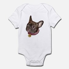 Frenchie Head Infant Creeper