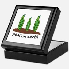 Peas on Earth Keepsake Box