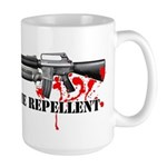 Zombie Repellent Dark Shirts Large Mug