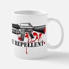 Zombie Repellent Dark Shirts Mug