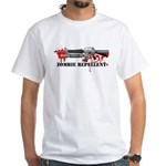 Zombie Repellent Dark Shirts White T-Shirt
