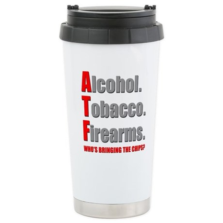 ATF Humor Stainless Steel Travel Mug