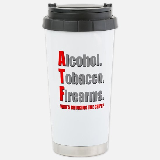 ATF Humor Stainless Steel Travel Mug