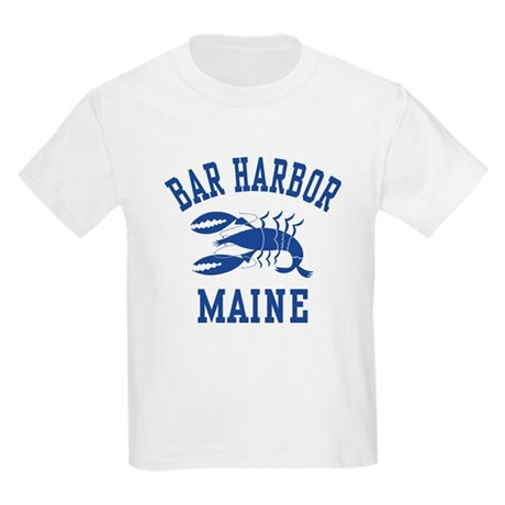 Bar Harbor Maine Kids T-Shirt