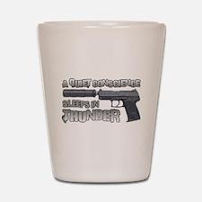 HK USP Handgun Silencer Shot Glass