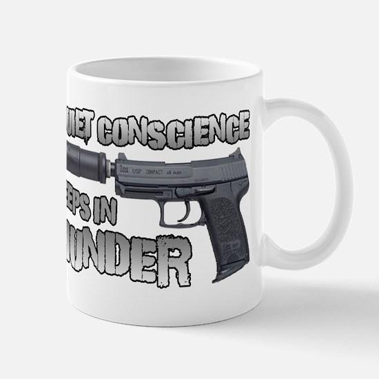 HK USP Handgun Silencer Mug