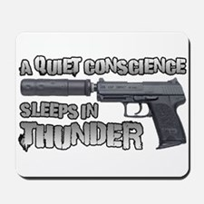 HK USP Handgun Silencer Mousepad