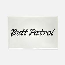 Butt Patrol Rectangle Magnet