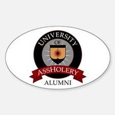 University of Assholery Decal