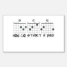 Now Start a Band Decal