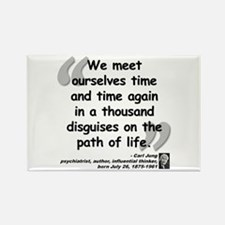 Jung Path of Life Rectangle Magnet