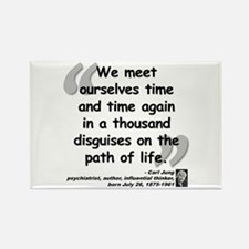 Jung Path of Life Rectangle Magnet (100 pack)