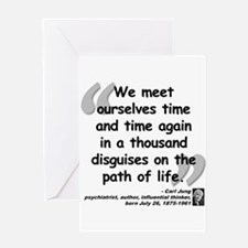 Jung Path of Life Greeting Card