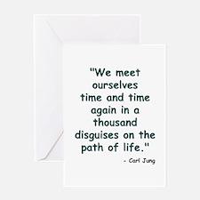 Path of Life Greeting Card