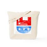 Dead Republican Elephant Tote Bag