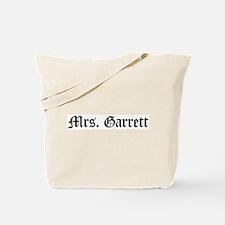 Mrs. Garrett Tote Bag