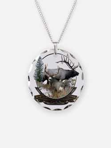 Big Game Elk and Deer Necklace