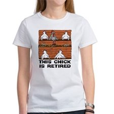 Retired Chick Tee
