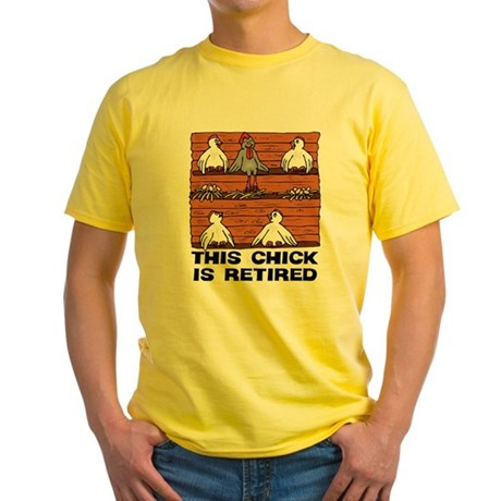 Retired Chick Yellow T-Shirt
