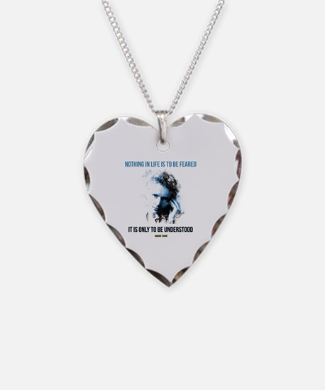 Cool Quote Necklace Heart Charm