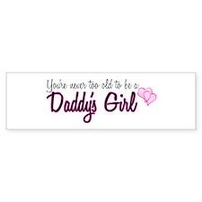 Daddy's Girl Bumper Sticker