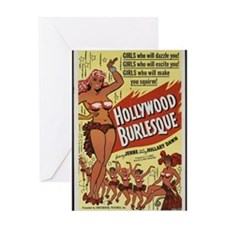 hollywood_burlesque Greeting Cards