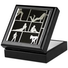 Cute Pole dance Keepsake Box