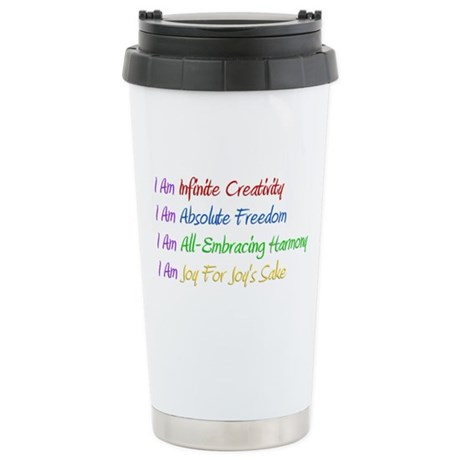 What I Really Am Stainless Steel Travel Mug