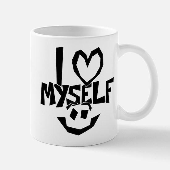 I love myself Smiley Mugs