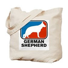RWB German Shepherd Tote Bag