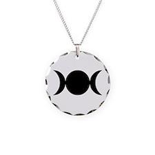 Tripple Moon Goddess Necklace