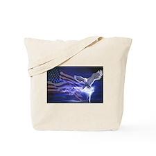 Eagle Storm Tote Bag