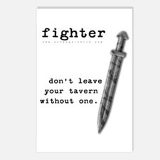 Fighter's Sword Postcards (Package of 8)